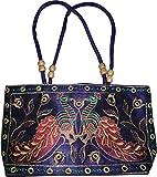 Czds India Women's Blue Handbag (BAG-44)