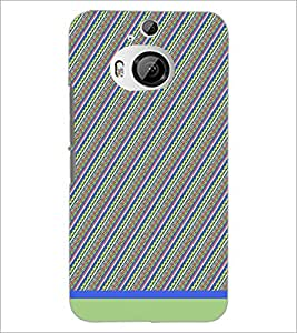PrintDhaba Pattern D-1729 Back Case Cover for HTC ONE M9 PLUS (Multi-Coloured)