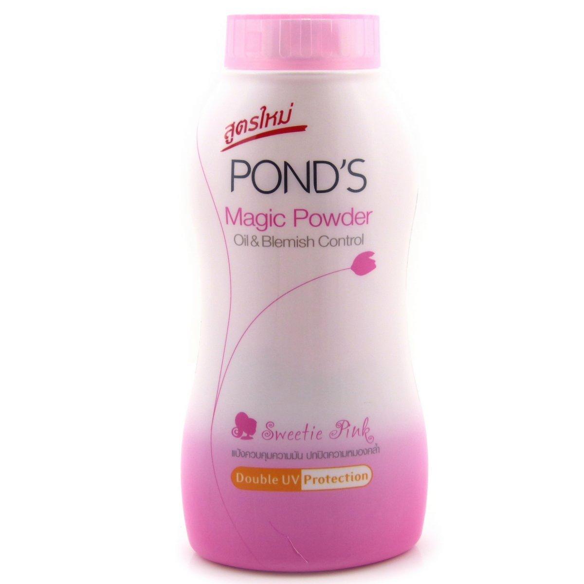 Ponds Powder Logo Pond's Magic Powder Oil
