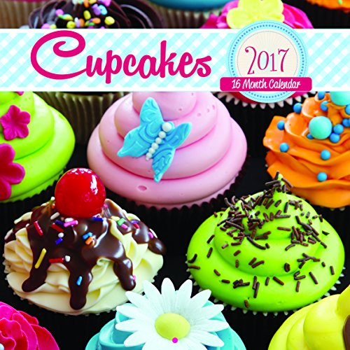 For Arts Sake - Cupcakes - 2017- 16 Month Wall Calendar- FAS17544