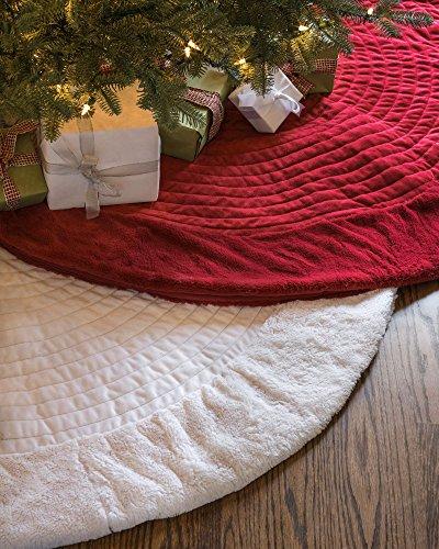Balsam-Hill-Berkshire-Channel-Stitch-Tree-Skirt