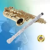 Libretto Alto Saxophone Brush, Grey, Best to Clean and Extend the Life of your Instrument! (Color: 1)