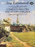 Complete Preludes and Etudes-Tableaux (Dover Music for Piano)