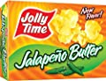 Jolly Time Microwave Popcorn: Jalapeno Butter (Pack of 4) 3 Count (9 oz) Boxes