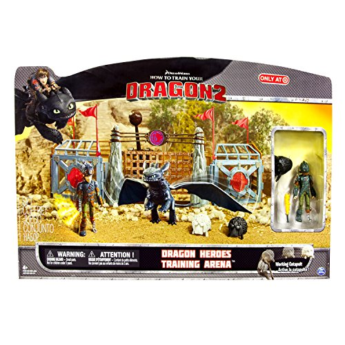 How to Train Your Dragon 2 Playset Dragon Heroes Training Arena by Spin Master