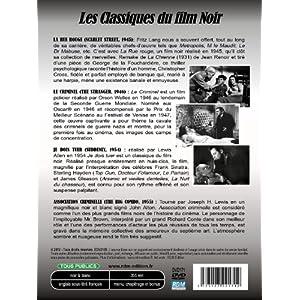 Les Classiques Du Film Noir : La Rue Rouge (Scarlet Street) - Le Criminel (The Stranger) - Je Dois T