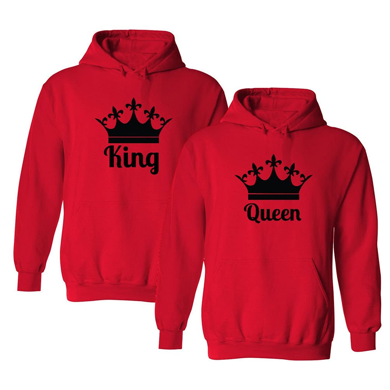 Matching couple hoodies