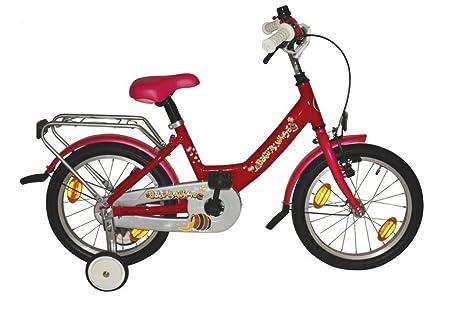 BALOU 16 Wave-Type Rose Vélo Enfant 12/18 pouces