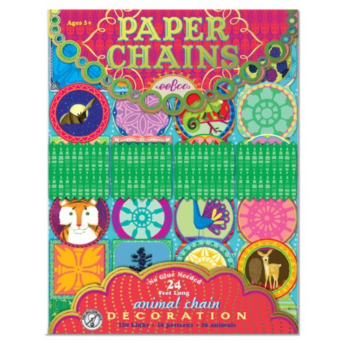 eeBoo Animal Paper Chain