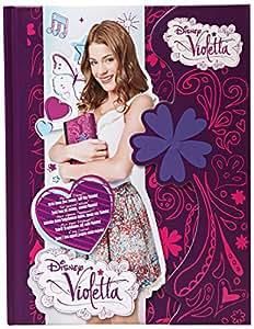 Violetta - 05180 - Loisirs Créatifs - Journal intime à fermeture magnétique