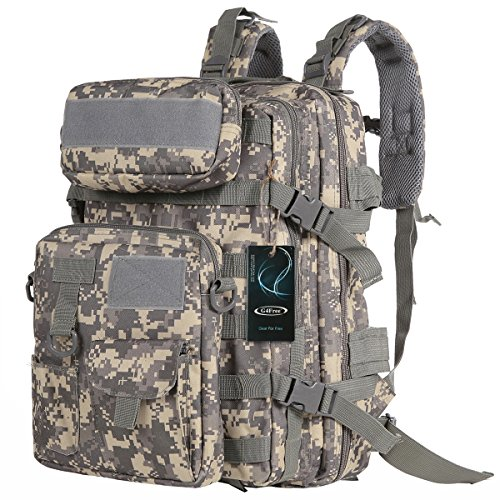 G4Free Military Tactical Molle Backpack Sport Outdoor versatile Rucksacks Camping Hiking Traveling Bag 40L