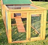 PawHut® Hasenstall Hasenkäfig Kaninchenstall Kaninchenkäfig Kleintierstall mit Freigehege XXL 310 cm NEU -