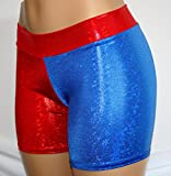 Childrens-4-Red-and-Blue-Cosplay-Shorts