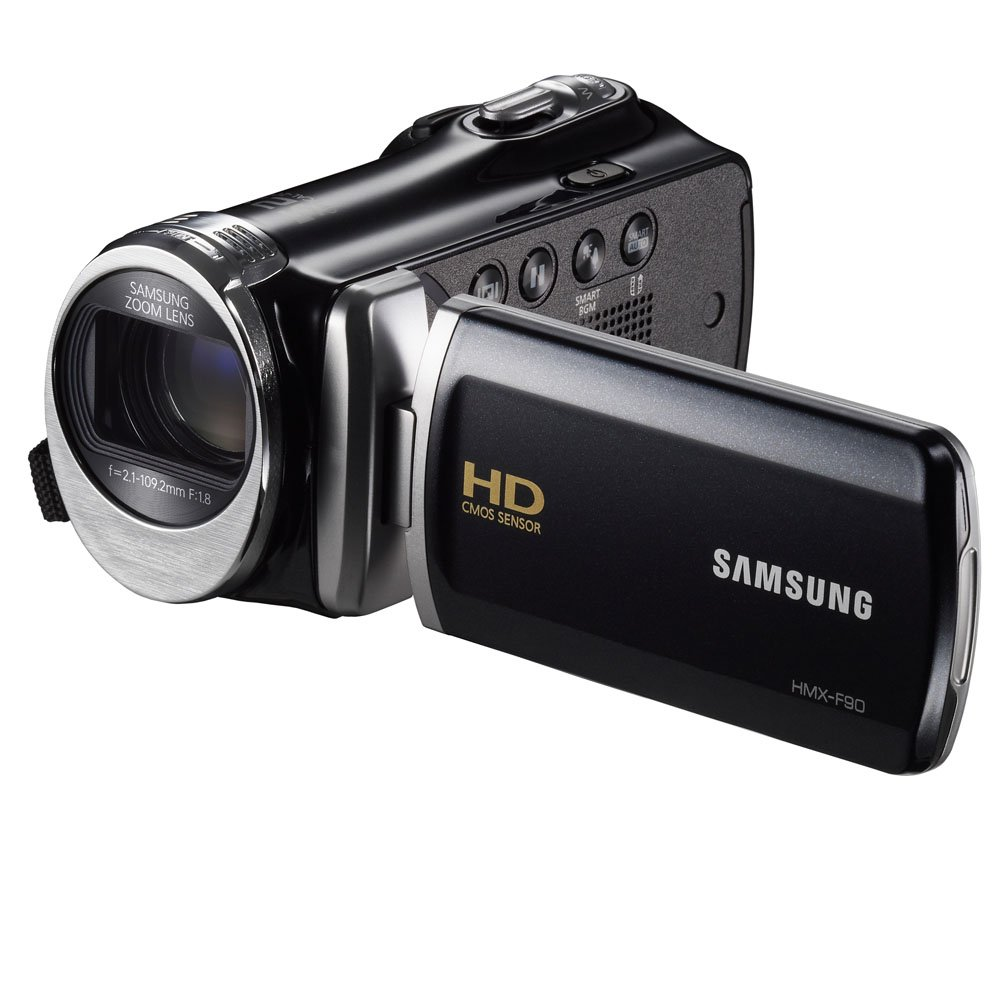"Samsung F90 Black Camcorder with 2.7"" LCD Screen and HD Video Recording (Discontinued by Manufacturer)"