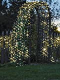 InnooTech 17M 100 LED Outdoor Solar String Fairy Lights for your patio, garden, lawn, christmas tree, partiy, wedding(Warm White)