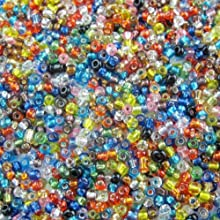 2000pcs DIY Jewelry Making Czech Glass Seed Spacer Beads Mixed Color 2mm