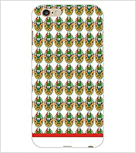 PrintDhaba Pattern D-1542 Back Case Cover for APPLE IPHONE 6 (Multi-Coloured)