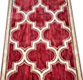 Dean Milazzo Red Premium Nylon Carpet Rug Runner - Purchase by the Linear Foot