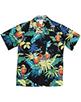 RJC Boys Size 2 to 18 Jungle Parrot Shirt