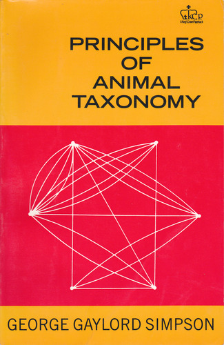 Principles of animal taxonomy
