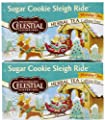Celestial Seasonings Sugar Cookie Sleigh Ride Tea Bags, 20 ct, 2 pk from Hain-Celestial Seasonings
