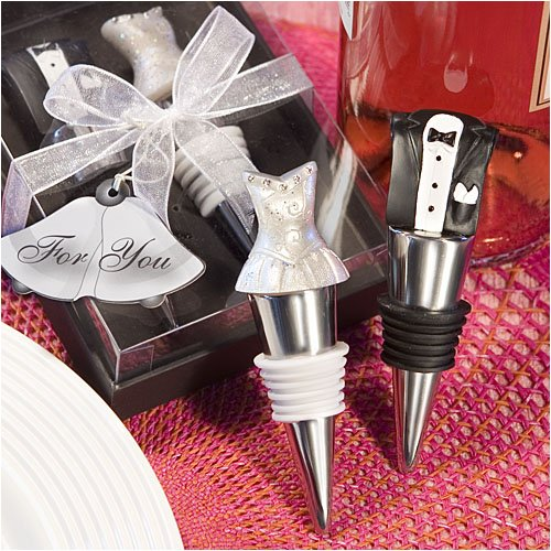 Bride & Groom Winter Stopper Wedding Favor Set, 1