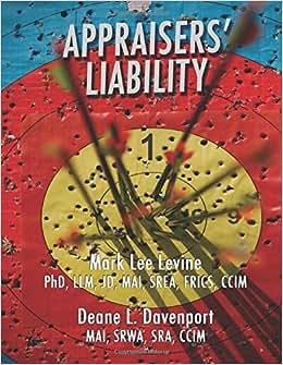 Appraisers' Liability: Volume I (Volume 1)
