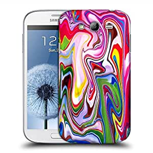 Snoogg Paint Splash Designer Protective Back Case Cover For SAMSUNG GALAXY GRAND DUOS I9082