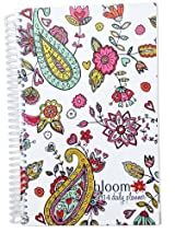 2014 bloom Calendar Year Daily Day Planner Fashion Organizer Agenda January 2014 Through December 2014 Hearts
