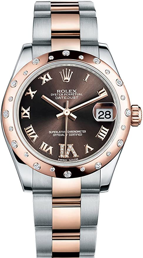 Rolex Chocolate Diamonds Golden Jubilee Watch