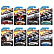 Fast and Furious Hot Wheels 2015 Complete Set of 8 - LIMITED EDITION - Amazon Exclusive 1:64 Diecast Collection - Fast and the Furious Hot Wheels Movie Franchise Car Theme - Includes: '69 Dodge Charger Daytona - '94 Toyota Supra - '70 Dodge Charger R/T -