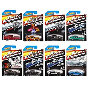 Amazon.com: Hot Wheels Fast and Furious Complete Set (set of 8) 1:64