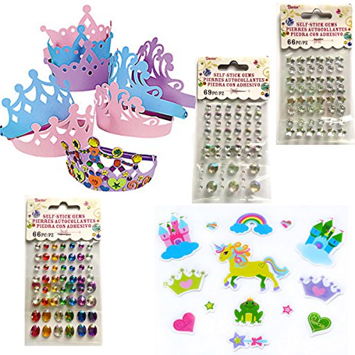 Make Your Own Princess Tiara, Party Pack (For 12 People) front-940579