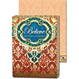 Believe Anything is Possible Gold Foil Embellished Notepad