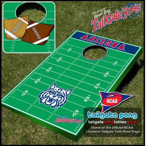 Arizona UA Wildcats College Tailgate Toss Cornhole Game - FREE SHIPPING