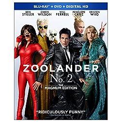 Zoolander No. 2: The Magnum Edition [Blu-ray]