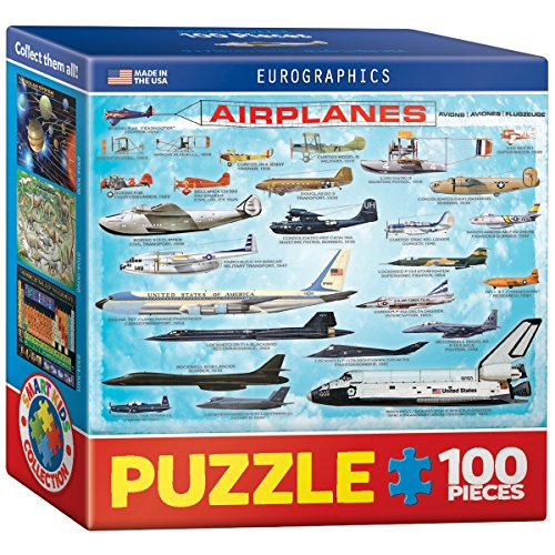 EuroGraphics Airplanes Mini Puzzle (100-Piece)