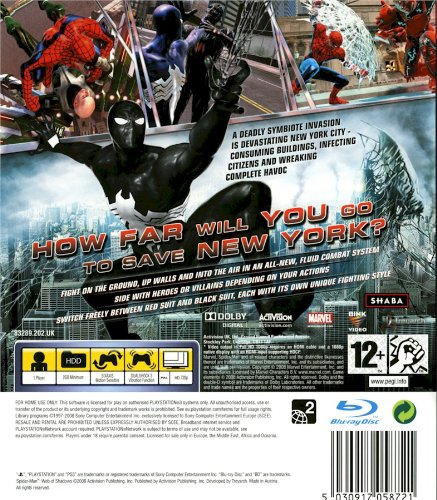 Spider-Man: Web of Shadows  galerija