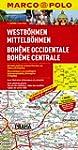 MARCO POLO Karte Westb�hmen, Mittelb�...