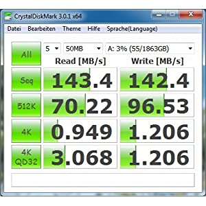 Seagate ST2000DL003 2 TB interne Festplatte (8,9 cm (3,5 Zoll), 5900 rpm, 8.5 ms, 64MB Cache, SATA) schwarz