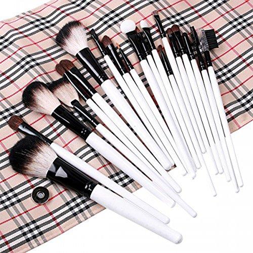 Zunhong 20Pcs Pinceaux Maquillage Trousse Stylo Makeup Brush Set