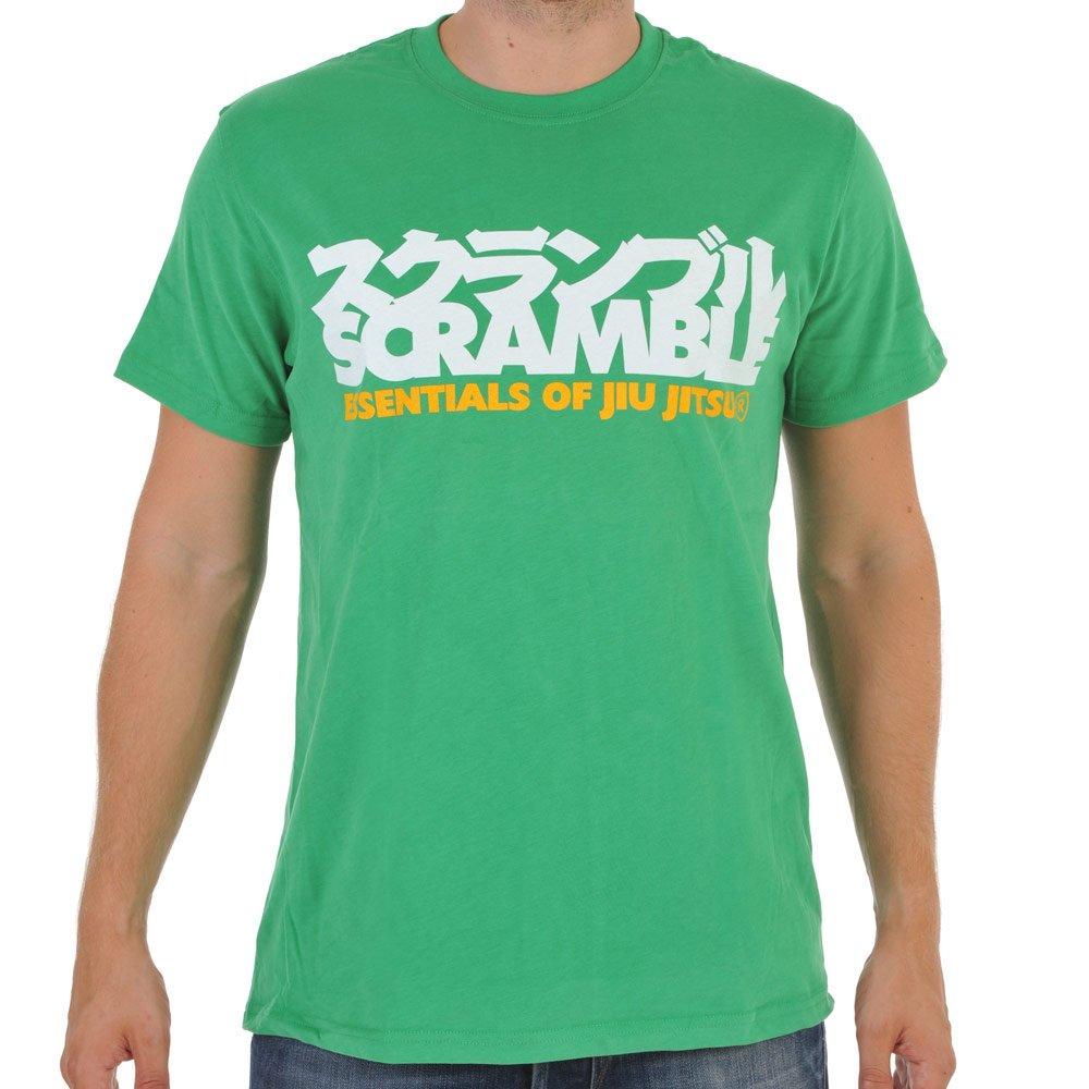 Scramble BJJ Essentials Green Tee