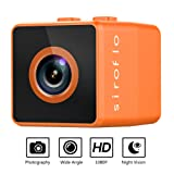 Mini Spy Camera Wireless Hidden Camera, 1080P HD Night Vision, 160 Angle Motion Detection, and Portable Security Cameras Perfect Nanny Cam for Home, Car, Office (Color: Orange)