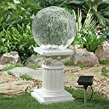 Brylanehome Color Changing Solar Powered Gazing Ball