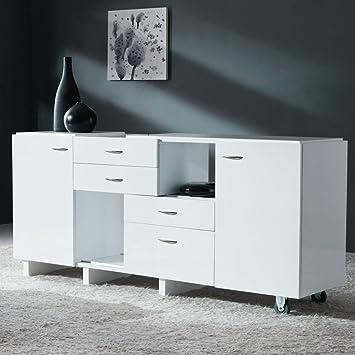 commode sesame blanc cuisine maison z466. Black Bedroom Furniture Sets. Home Design Ideas