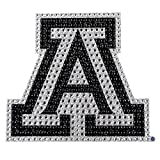 University of Arizona Wildcats College NCAA Sports Team Collegiate Logo Car Truck SUV Motorcycle Trunk 3D Bling Gem Crystals Chrome Emblem Adhesive Decal