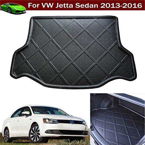 Volkswagen VW Jetta Sedan 2012 2013 2014 2015 2016 Car Boot Pad Carpet Cargo Mat Trunk Liner Tray Floor Mat (Volkswagen Cargo Cover compare prices)