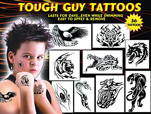 TOUGH TATTOOS FOR GUYS