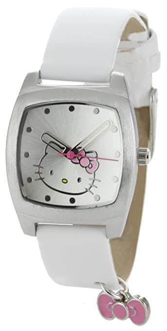 Hello Kitty Women's H3WL1005WT Silver Dial Watch