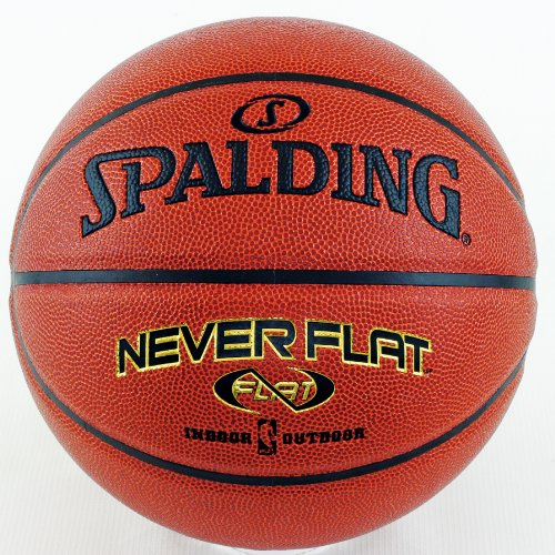 Spalding Never Flat Official Size Basketball